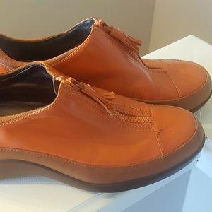 COLE HAAN Orange NIKE AIR Flats Shoes 7 B 37 EU